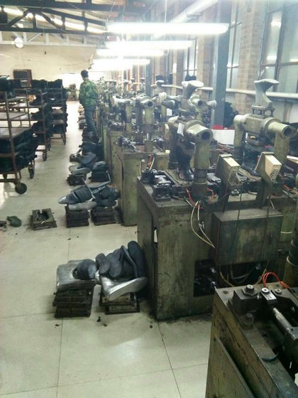 Tianjin HengSen Military DMS Boot Factory
