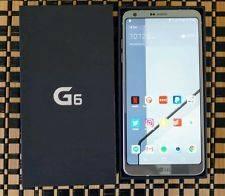 Wholesale gsm: LG G6 - Verizon + GSM Unlocked 32gb Platinum - Android 7.0 - Waterproof - IP68