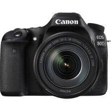 Wholesale Digital Cameras: Canon EOS 80D Digital SLR DSLR Camera W EF-S 18-135mm Lens