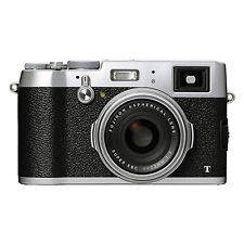 Wholesale Digital Cameras: Fujifilm X100T 16.3MP Digital Camera Full HD Wi-Fi Silver