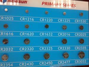 Wholesale battery: CR / LIR / ML / PL (Li Polymer) Batteries
