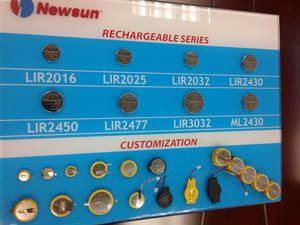 Wholesale Rechargeable Batteries: CR / LIR / ML / PL (Li Polymer) Batteries