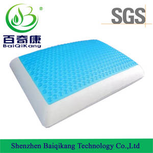Wholesale memory foam pillow: New Style Slow Rebound Space PU Gel Memory Foam Pillow,Massage Pillow,Body Pillow