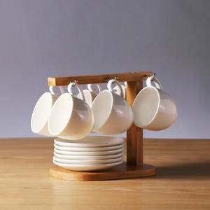 Wholesale kitchenware: White Fine Ceramic Coffee Set Tea Set Kitchenware