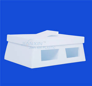 Wholesale plastic box/package: Clear PP Hollow Plastic Package Box / Packaging Box/Turnover Box