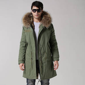 Wholesale Coats: 2017 Ladies Italy Style Fur Waistcoat for Parka,Lake Bule Faux Fur Thick Parka,Real Raccoon Collar
