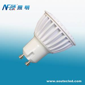 Wholesale high power led: High Power LED GU10 Spot Light AC85~265V Aluminum Housing