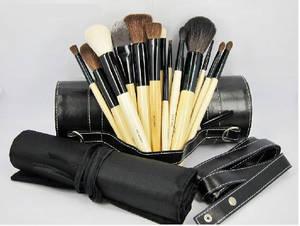 Wholesale makeup brush goat hair: Professional Brush Set