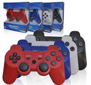 Wholesale game joypad: Six Axis Dual Shock 3 PS3 Wireless Bluetooth Controller