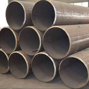 Wholesale welding materials: Cold Formed ASTM A106 Grade B LSAW Welded Round Steel Pipe/Tube for Building Material Made in China