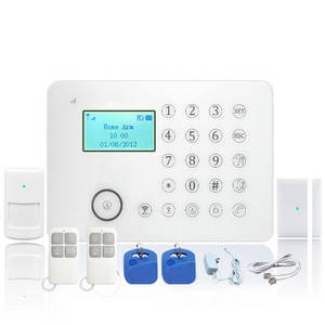 Wholesale alarm system: touch Screen GSM LCD Alarm System E911 Plus