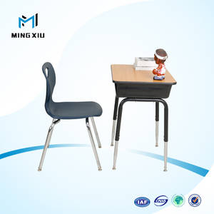 Wholesale School Furniture: Supplier Low Price Modern Single Student Desk and Chair