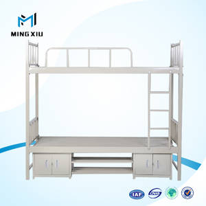 Wholesale bunk bed: China Mingxiu Low Price Adult Bunk Beds / Cheap Dorm Bunk Bed for Sale