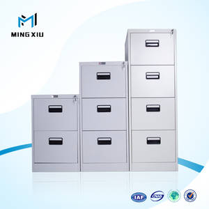 Wholesale furniture: China Mingxiu Steel Office Furniture Metal File Cabinet with 3 Drawers