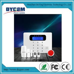 Wholesale alarm system: Home Wireless 7 Inch Touch Screen Auto-Dial/SMS Alarm System for PE Security