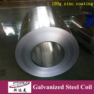Wholesale s250: Factory 140g Dx51d Prime Hot Dipped Galvanized Steel Coil