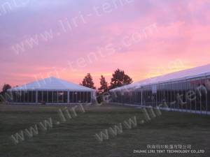 Wholesale outdoor tents for events: Outdoor Marquee Tent with Glass Wall for Wedding Event