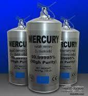 Wholesale battery pack: High Purity Liquid Mercury 99.999%