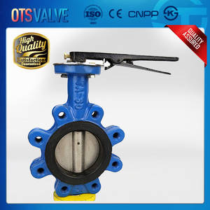 Wholesale wafer: Wafer Lugged Type Centric Disc Butterfly Valves