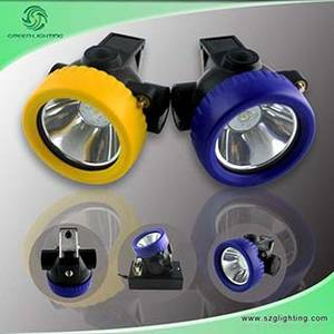 Wholesale mine explosion proof lamp: Cordless LED Mining Safety Headlamp with 2.2ah Li-ion Batter