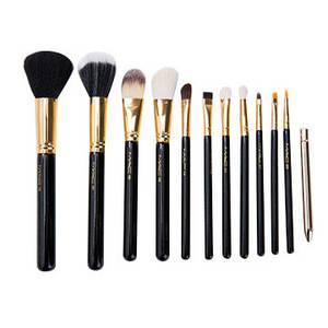 Wholesale makeup brush goat hair: High Style Makeup Brush Set