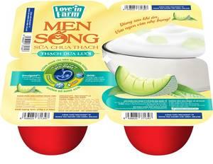 Wholesale jelly: Melon Jelly - Love'in Farm Live Culture Yogurt