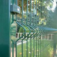 Sell For Park Community garden Bending Triangular Weld mesh FENCING
