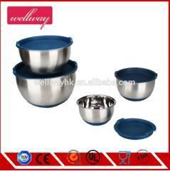 Wholesale salad bowl: Stainless Steel China Mixing Bowls for Cake Stainless Steel Rice Bowl/ Salad Bowl/ Mixing Bowl Set