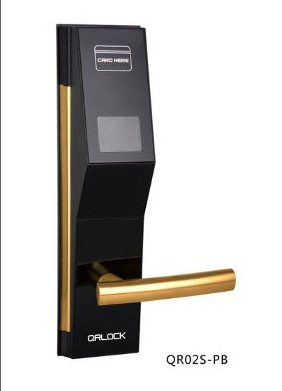 mobile: Sell Mobile phone control hotel door lock,QR code door lock
