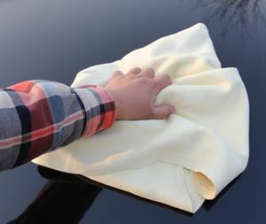 Wholesale leather chamois: Car Washing Sheepskin Natural Chamois Leather