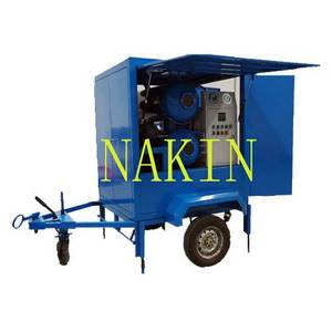 Wholesale gas powered hydraulic pump: Double Stages Vacuum Transformer Oil Purifier Machine