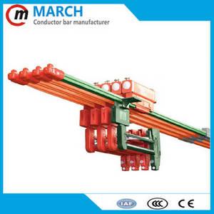 Wholesale crane rail: Flexible Copper Busbar for Crane Rail , 160A-400A Copper Bus Bar