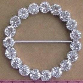 Wholesale sash: Diamante Chair Sash Buckles