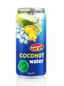 Wholesale coconut: Pineapple Flavour Coconut Water in Aluminium Can