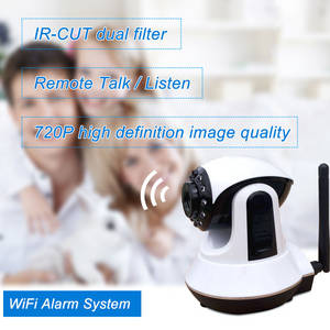 Wholesale wifi ip phone: WIFI/GSM/3G Network Video Monitor Burglar Alarm System Mobile Remote Real-time Viewing IP Camera
