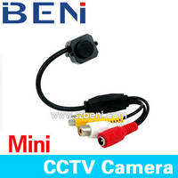 Sell Mini Wired Color CCTV Video Audio Security Cameras N/P
