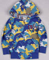 Sell Chidren winter clothes with overall printed boys frnech terry coat