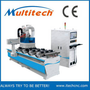 Wholesale pvc soft sheet: CNC Router Machine with Boring Heads