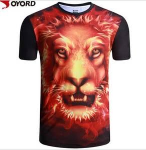 Wholesale digital printing: Custom Wholesale China Digital Sublimation Printing 3D T Shirt