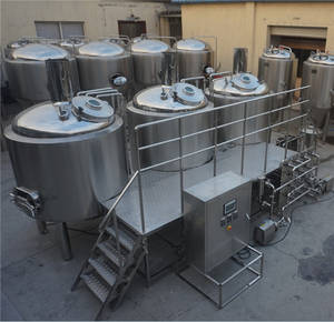 Wholesale cip cleaning system: Beer Boiling Tank/Stainless Steel Mash Tun/Brewhouse System