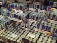 Sell High quality factory price red blue energy drink