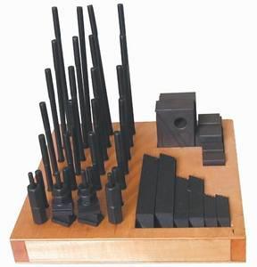 Wholesale pce: 5/8-11 3/4'' 50 PCE Heavy Duty Blocks Super Clamp Sets
