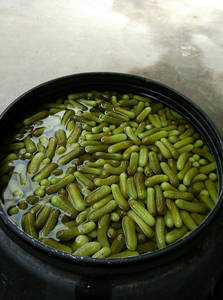 Wholesale Canned Vegetables: Cucumber 5-7 Cm in Drum