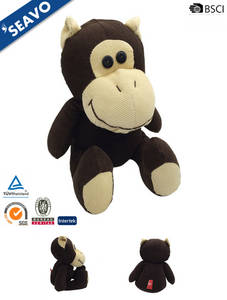 Wholesale toy: SEAVO Stuffed Custom Plush Corduroy Orangutan Toy
