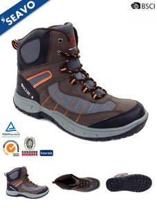Wholesale Hiking Shoes & Boots: SEAVO High Ankle Style MD Sole Brown Best Hiking Shoes for Men