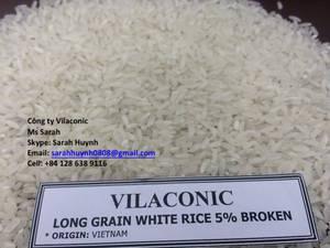 Wholesale Rice: Long Grain Rice 5% Broken