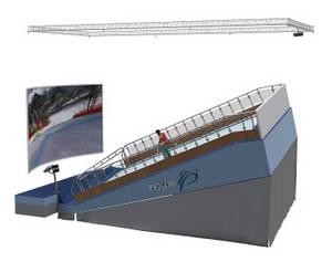 Wholesale snowboard materials: Professional Ski Simulator Indoor Training for Winter Sports Ski and Snowboard On Proleski Infinite
