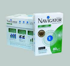 Wholesale photocopy paper: Navigetor 80gsm White A4 Copy Paper, Photocopy Paper, Office Paper