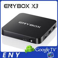 Sell S905X Andorid 6.0 TV BOX 100M KODI 16.1 4K 2GB 16GB ENYBOX X3 4K S905X