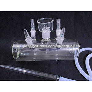 Wholesale Smoking Pipes: Factory Wholesale Transparent Glass Hookah